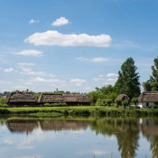 The Open Air Village Museum in Lublin