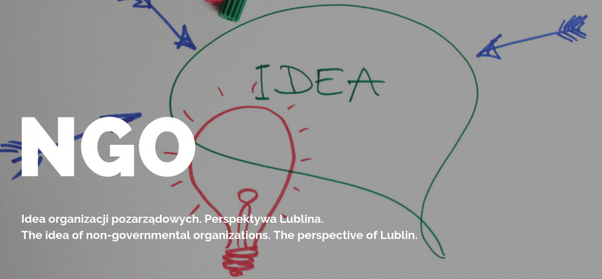 The idea of non-governmental organizations. The perspective of Lublin.