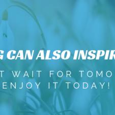 Wiosna także może Cię zainspirować!