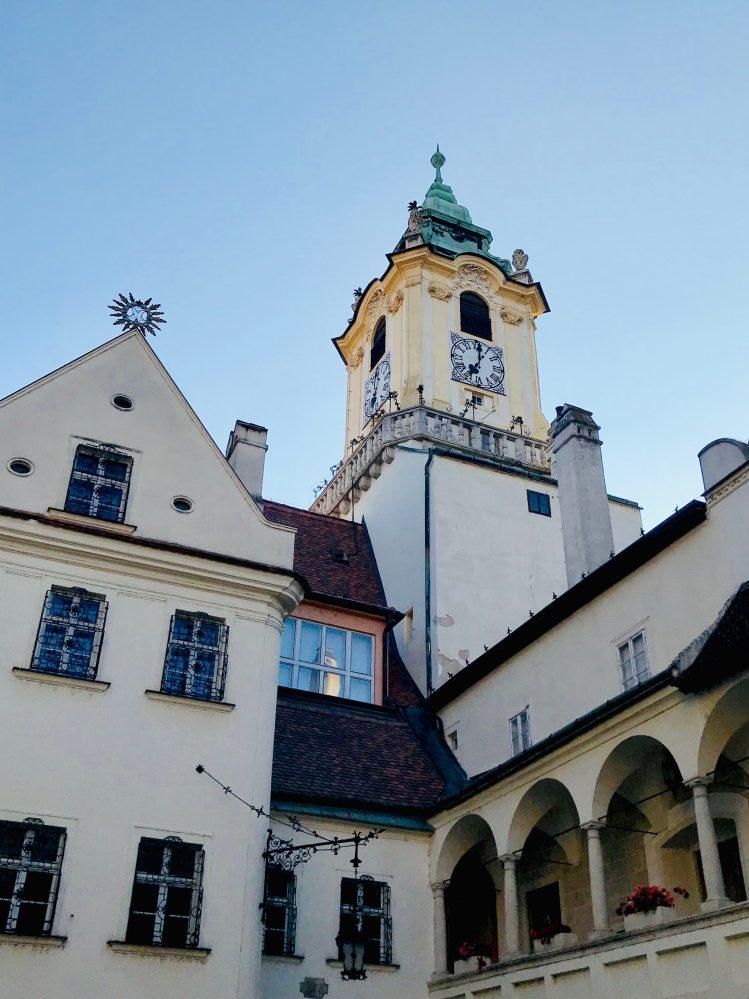 Na środku Europy czyli wizyta w Bratysławie